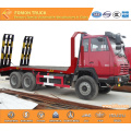 SHACMAN 6x4 20tons construction machinery transport truck