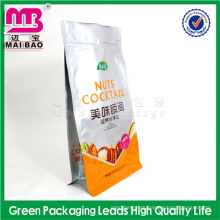 deep-processing make stand up snack food bag/printed snack pouch