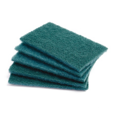 Medium-duty kitchenware clean scouring pads with abrasive