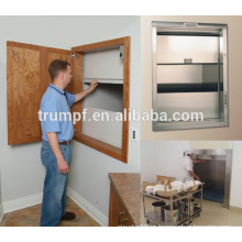 Dumbwaiter alimentos para uso de cozinha