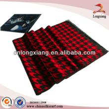 Cheap Winter Thick Viscose Warm Handwash Unisex Jacquard Scarf 100 Viscose Neck Scarf Fabric