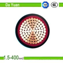 Industrial Cable 0.6 / 1kv 5core PVC aisló el cable de transmisión acorazado del LV