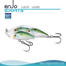 Angler Select Fishing Tackle School Fish Lipless Shallow Fishing Lure with Bkk Treble Hooks (LL0270)