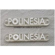 Прозрачный резиновый логотип для одежды отличные ПВХ резиновые 3D патч/ ПВХ силе резиновые патч