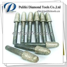 Granite Stone Carving Tools Abrasive Burr Bits Sintered Diamond Burr
