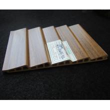WPC Panel de puerta corredera Wd-132h9-5L película de PVC laminado