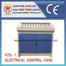 Caso de controle elétrico usado na linha de produtos