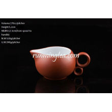 Chinese Zisha Clay Red Color Pitcher