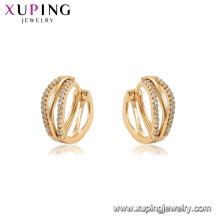 96911 xuping ambiental cobre banhado a ouro mulheres brinco jóias