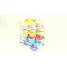 Multi-Colored Color Scented Tealight Candle