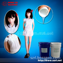 Addition body double silicon for silicone sex doll