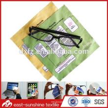 Lindos y hermosos lentes baratos paño de limpieza