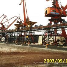 DIN/Cema/ASTM/Sha Standard Downward Belt Conveyor / Inclined Conveyor / High Angle Conveyor