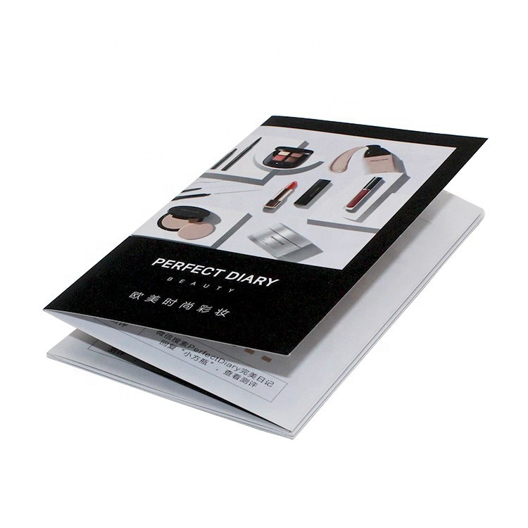 Custom Paper Printed Color Brochure User Manual