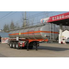 10.6m Tri-axle Chemical Liquid Transport نصف مقطورة