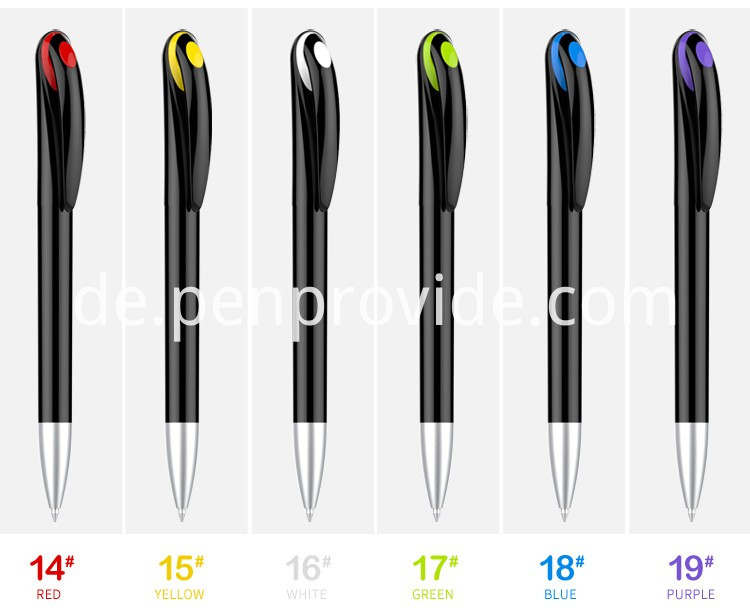 Advertising Gift Black Balpoint Pen