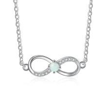 Opal Stone Hot Sale Popular Silver Jewelry Opal Pendant for Women