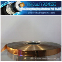 Made in China Distributors Copper Foil Pet Tape for Wire Cable Shielding