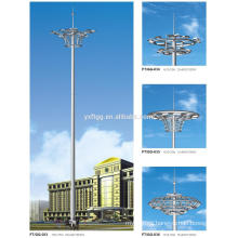 2015 Best sale 20-60M galvanized highway high mast lighting pole price