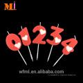 Quantidade Assegurada Party Ocasião Large Number 1 Candle Red No Mundo
