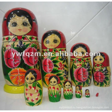 качественные деревянные ремесла России матрешка