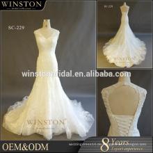 Neue luxuriöse hochwertige modische Brautkleid