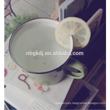 tea or coffee mug for gift printed enamel mugs