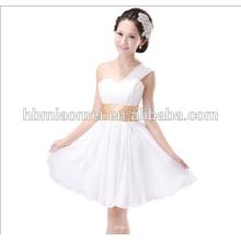 sexy One-Shoulder Club Kleid Bund Abendkleid kurz