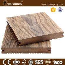 UV resistant nature color design hard wooden yard tiles exterior WPC flooring