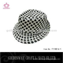 Großhandel billig Polyester Jungen Fedora Hüte