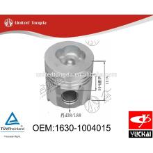 1630-1004015 Original Yuchai engine YC6105 pistón para camión chino
