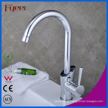 Fyeer China Single Handle Goose Neck Kitchen Sink Faucet (QH1771K)