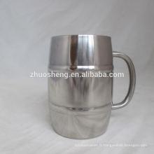 logo personnalisé en acier inoxydable de haute qualité d'impression cups Inde