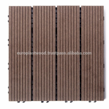Waterproof outdoor WPC decking tile