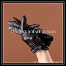 2012 nouveaux gants en cuir de style court à la mode