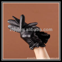 2012 new designed short style sex Leather Gloves