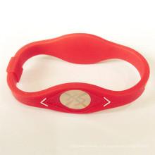 Мода Custom Шарм Фитнес Спорт Силиконовый браслет от поставщика