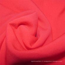 Tissu rayonne filé tissé uni