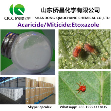 Высокая эффективность Акарицид / Инсектицид Этоксазол 95% TC 110g / l% SC № CAS: 153233-91-1