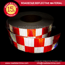 Conspicuity microprism pvc reflective truck tape