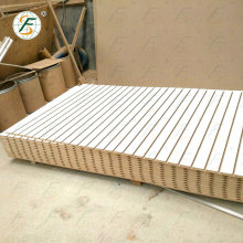 18mm Thick White Melamine Mdf Slotted