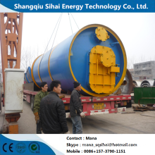 Minimum capacity uesed plastic refining pyrolysis machine