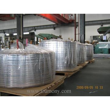 Material de barbatana de alumínio para o radiador automático