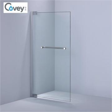 Reversible diseñado de 8 mm / 10 mm de cristal templado pantalla de la bañera (A-KW016)