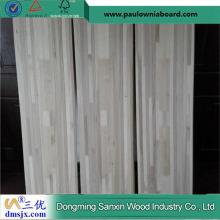 Tablero de madera articulado del álamo para la base del esquí
