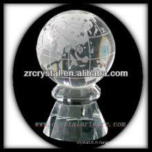 belle boule de cristal k9 K036