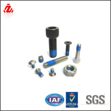 Self loking Anti-Loose nylok screw