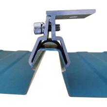 Kalzip Standing Seam Metal Roof Clamp Abrazadera del panel solar