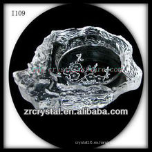K9 Exquisito Cenicero de Cristal
