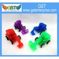 Clear Color Toy Pullback Construction Vehicles